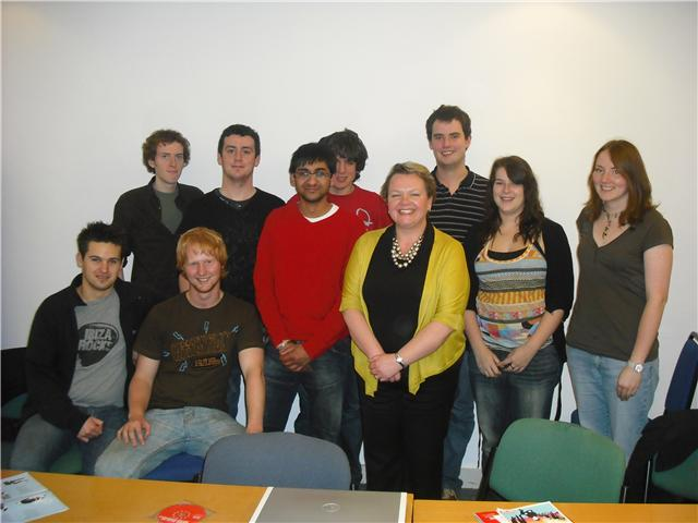 Jayne Innes PPC and members of Warwick Labour
