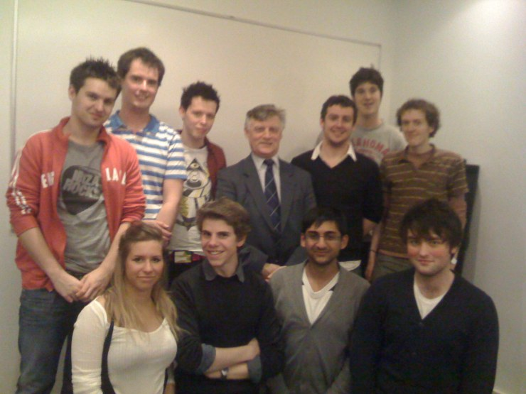 Steve McCabe MP and members of Warwick Labour
