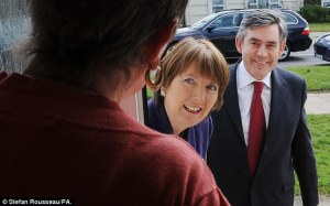 Gordon Brown canvassing