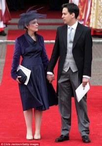 Ed Miliband at the Royal Wedding